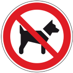Hundeverbot 150_150