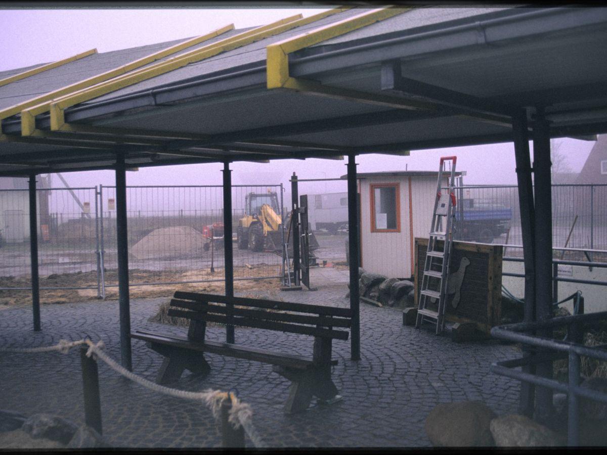 Der Bereich innerhalb der Seehundstation wird ebenfalls für Besucher*innen erneuert.
