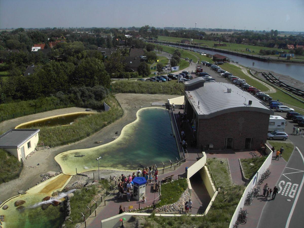 """Neues großes Becken der Dauerhaltungstiere und das neue Informationszentrum """"Robben der Welt"""""""